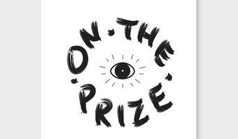 Eyes on The Prize White Art Print by W&AP