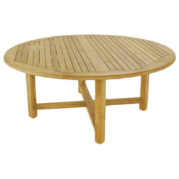Transitional Outdoor Dining Tables by Westminster Teak
