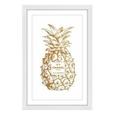 """Pine Gold"" Framed Paper Print by Amanda Greenwood, 40x60 cm"