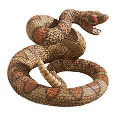 Western Diamondback Rattlesnake Statue