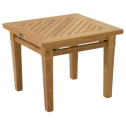 Transitional Outdoor Side Tables by Westminster Teak
