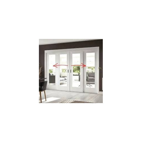 2 Windows And Double French Doors Vs 4 Panel Sliding Doors