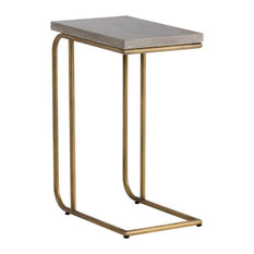 Lucius C-Shaped End Table