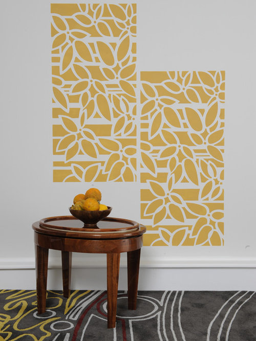 Wall Stencil Houzz