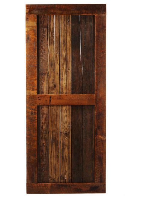 """Big Sky Barn Doors - Bitter Root Door, 50""""x97"""" - Interior Doors"""
