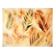 """""""Red Palms"""" by Paul Laoria, Giclee Canvas Wall Art, 20""""x26"""""""