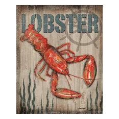 Lobster by Todd Williams Canvas Print