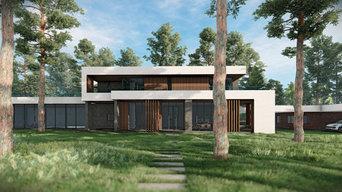 Современный дом в Комарово