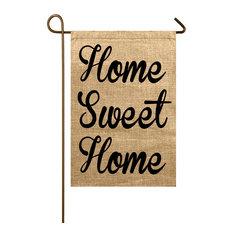 Home Sweet Home Burlap Garden Flag