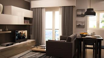 Prorgetto di ristrutturazione e arredo di appartamento a Genova