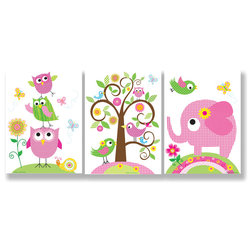 Luxury Contemporary Kids Wall Decor by Stupell Industries