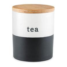 Chalkboard Dipped Loose Leaf Tea Storage by Pinky Up