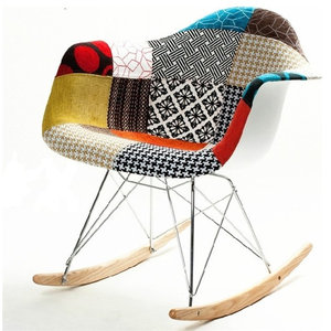 Ginger Rocker Arm Chair - Contemporary - Rocking Chairs - by