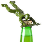 One Hundred 80 Degrees - Army Man Bottle Opener - You'll need a solid soldier that will fight tooth and nail to get those bottles drink-ready. The Army Man Bottle Opener will wage battle against even the most stubborn bottle caps and won't give up until the job is done. A great gift and addition to any home bar or man cave!