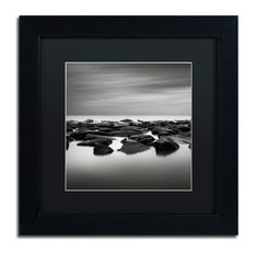 'High Tide' Matted Framed Canvas Art by Dave MacVicar