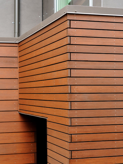 Brown Wooden Cladding ~ Rainscreen siding ideas pictures remodel and decor