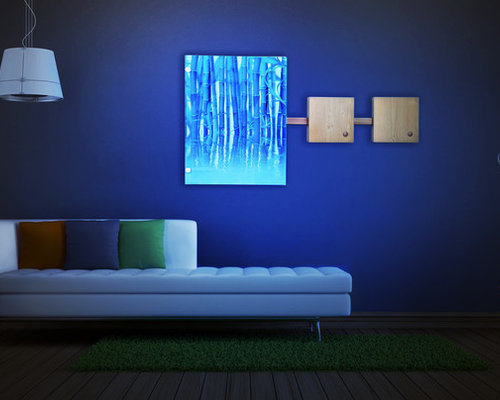 Wall Decoration With Led Lights : Wall decor with led lights
