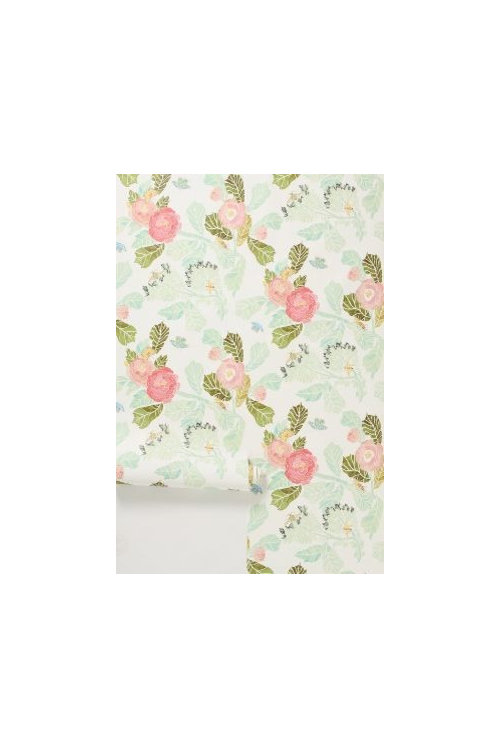Has Anyone Worked With Anthropologie Self Stick Wallpaper