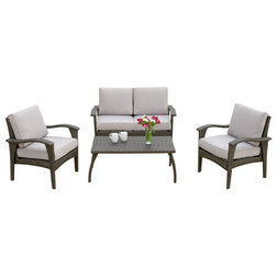 New Contemporary Outdoor Lounge Sets by GDFStudio