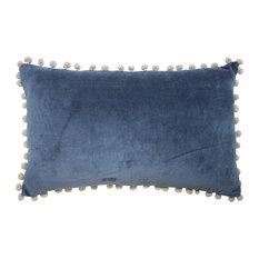 - Pom Pom Indigo - Decorative Cushions