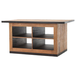 Industrial Kitchen Islands And Kitchen Carts by The Khazana Home Austin Furniture Store