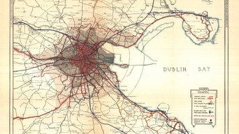 Old Dublin map (1925)