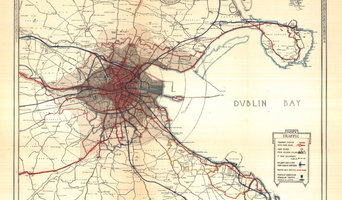 Old Dublin map (1925)