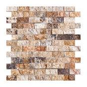 Scabos Split Face Travertine Tiles