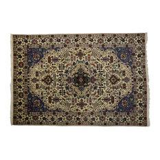Esmaili Rugs - Consigned, Vintage Persian Tabriz Area Rug, 9'00x13'03 - Area Rugs