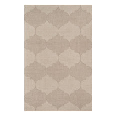 "Delhi DL-69 Hand Tufted Beige Area Rug 3'6""x5'6"""