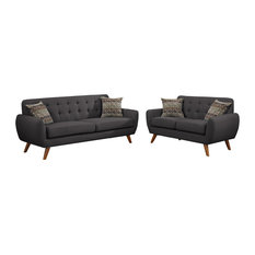 Modern Sofas And Sectionals Houzz - Modern sofas sectionals