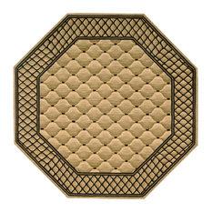 Nourison - Vallencierre Rug, Beige, 8'x8' - Area Rugs
