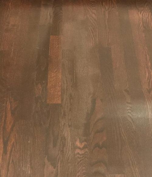 White Cloudy Haze On Newly Polyurethaned Wood Floors