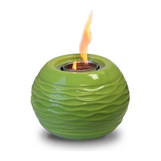 Ceramic Green Honey Pot Gel Burner