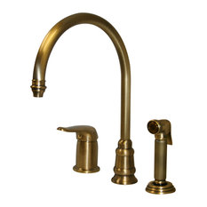 Antique Brass Kitchen Faucets | Houzz