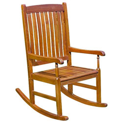 Traditional Outdoor Rocking Chairs by Homesquare