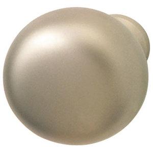 Hafele 134.41.601 Matte Nickel Cabinet Knobs