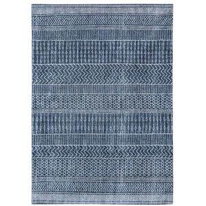 Bobohemian 8676 Agadir Scarab Rug, Blue, 140x200 cm