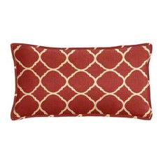 Sunbrella Accord II Crimson Outdoor Lumbar Pillow Set