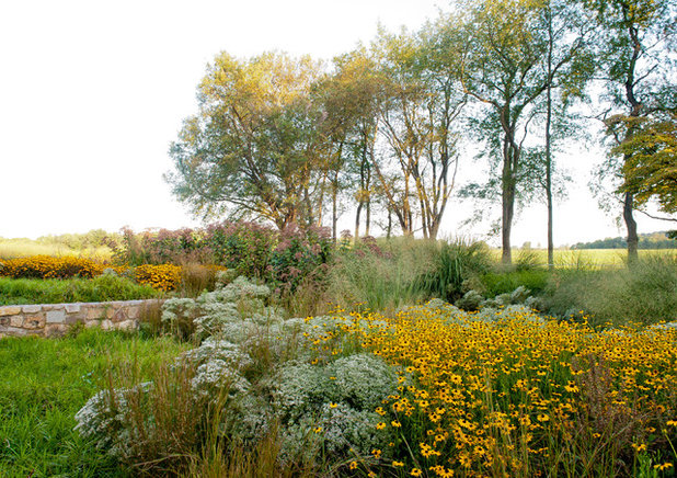Rustikal Garten by jonathan alderson landscape architects, inc.