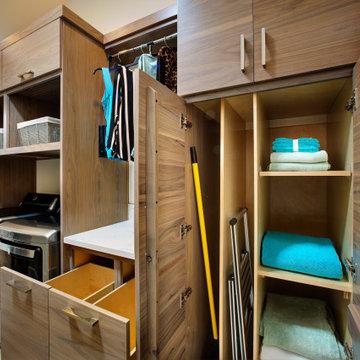 Folsom New construction laundry room 3