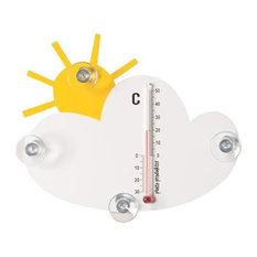 - Sol och moln termometer - Dekorativa termometrar
