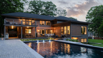 Modern Poolside Respite