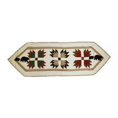 """Bear's Paw Table Runner Small 54""""X16"""""""