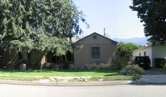 Architect's Residence - front yard, before