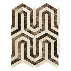 50 Most Popular Crema Marfil Emperador Tile For 2019 Houzz