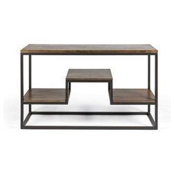 Industrial Console Tables by Houzz