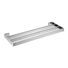 Gala 1-Tier Towel Shelf, Chrome