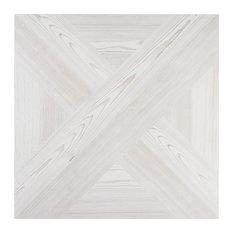 Balsa Decor 24 in. x 24 in. Matte Porcelain Floor and Wall tile, Bean