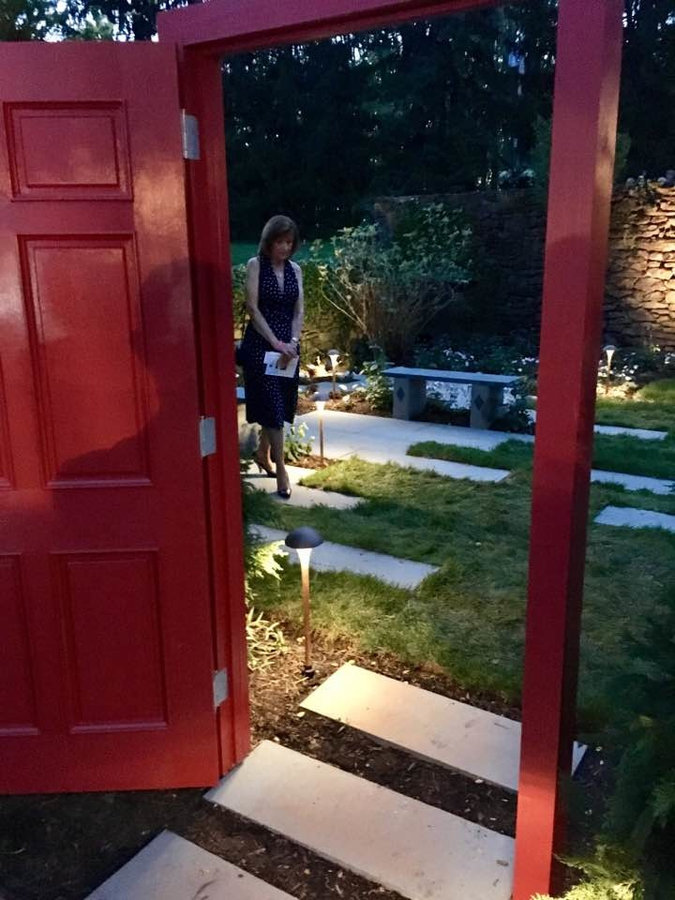 """Bluestone Benches and Bluestone Pavers : Through the red door and into the """"Secr"""